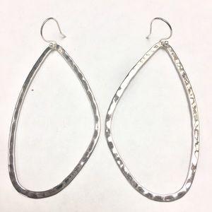 Jewelry - Silpada take shape .925 silver earrings.